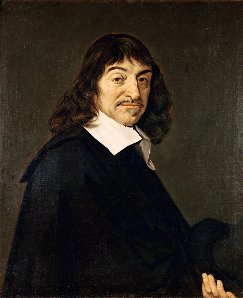 Frans Hals, Portrait of René Descartes, circa 1649-1700