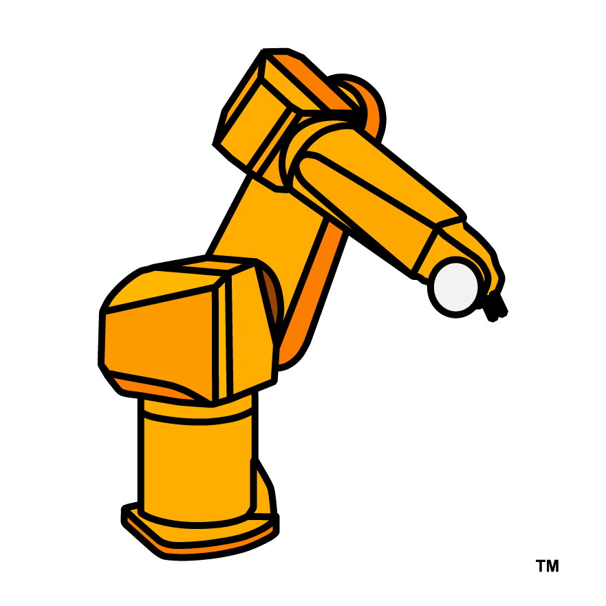 Roboticle Industrial Robot-arm Icon